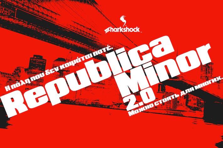 Cover Image For Republica Minor 2.0