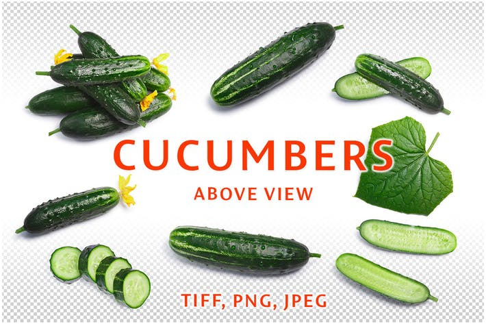 Thumbnail for Cucumbers top-down