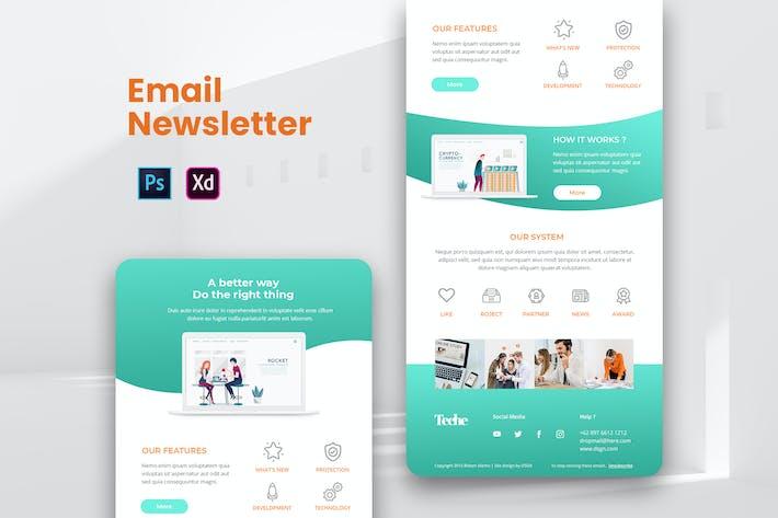 Thumbnail for Website App Email Newsletter