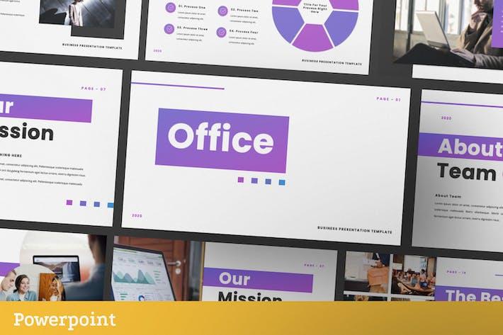Thumbnail for Шаблон бизнес-презентации Office