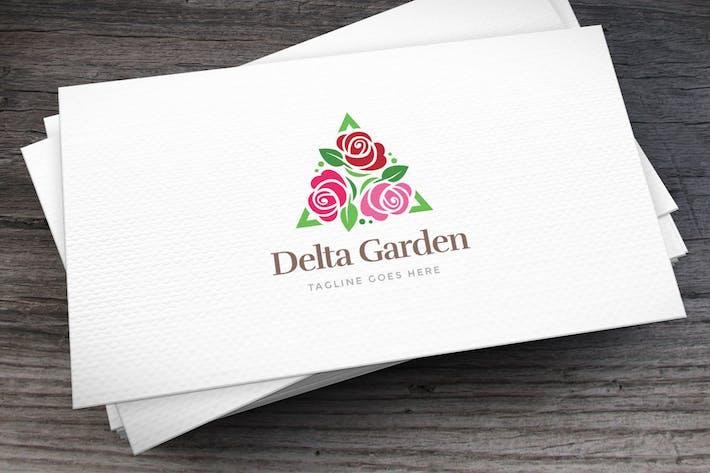 Thumbnail for Delta Garden Logo Template