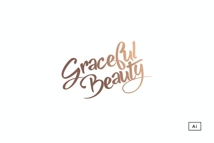 Thumbnail for Graceful Typography Logo Template