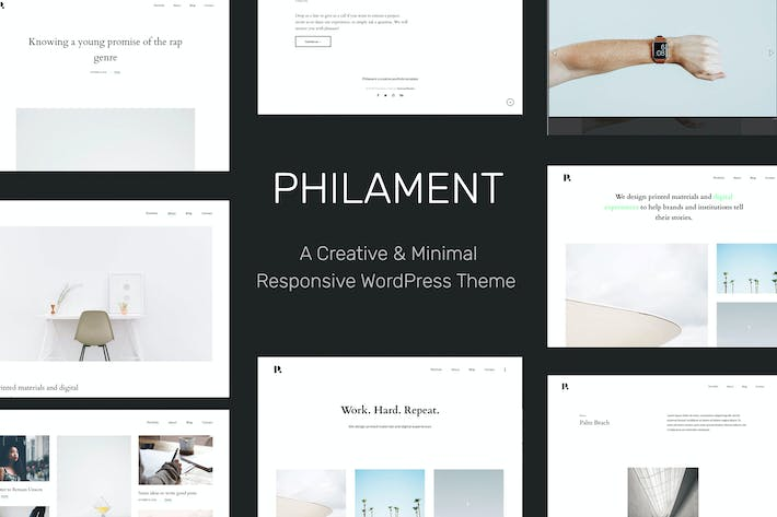 Thumbnail for Philament - Photography/Portfolio WP Theme