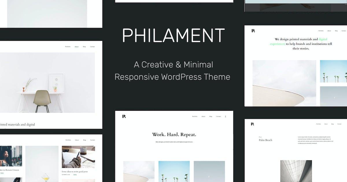 Download Philament - Photography/Portfolio WP Theme by tommusrhodus