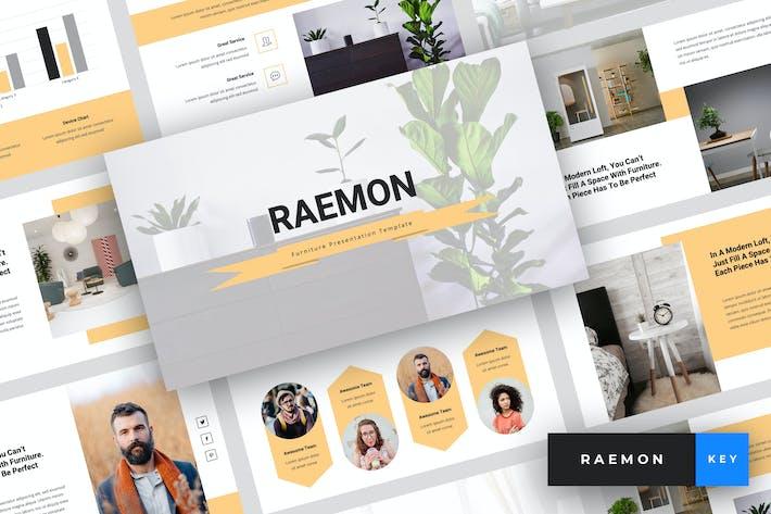 Thumbnail for Raemon - Шаблон Keynote мебели