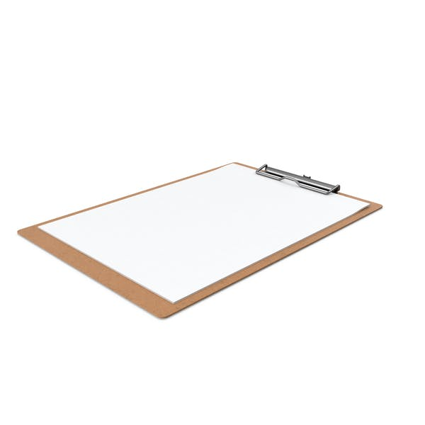 Paper Sheets in Clipboard