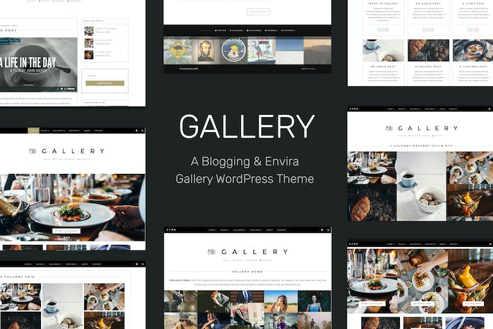 Gallery - Blogging&Envira Gallery WordPress Theme
