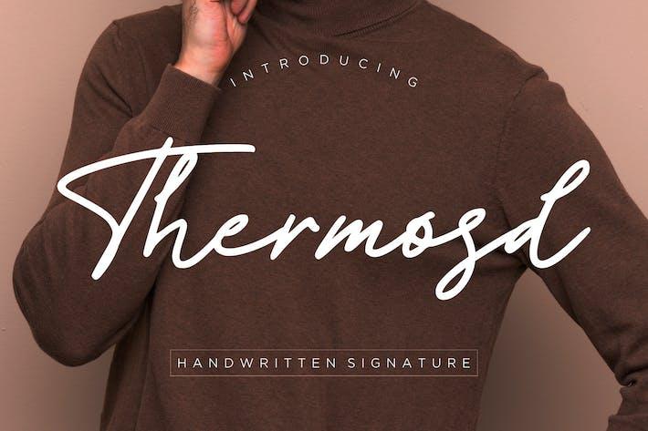 Thumbnail for Thermosd Handwritten Signature