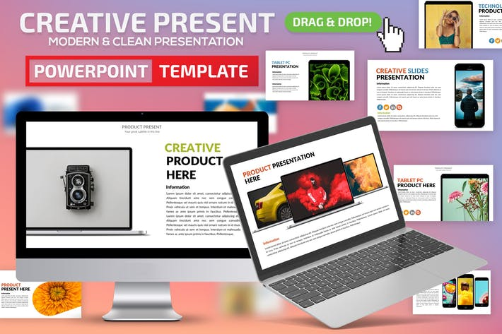 Thumbnail for Creative Powerpoint Presentation Template