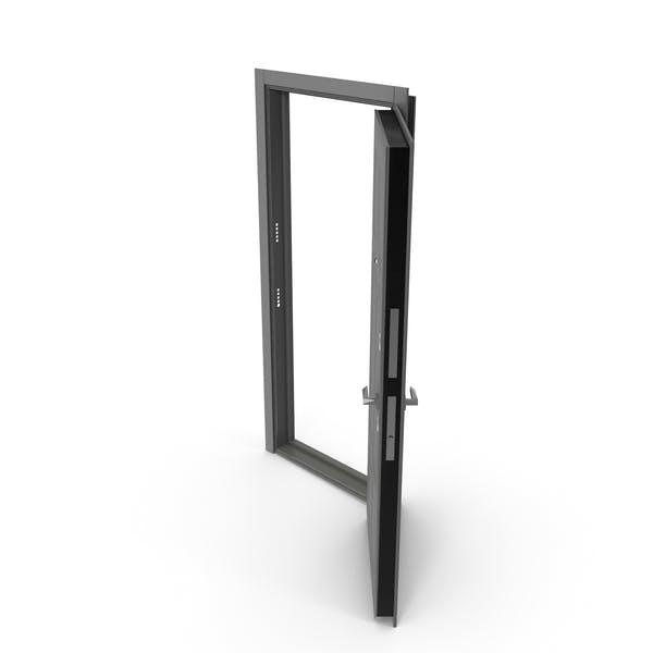 Entrance Door Grey