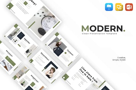 Modern - Multipurpose Presentation Template