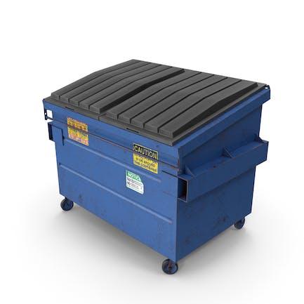 Dumpster Blue