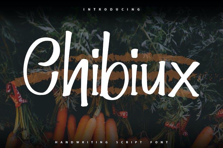 Thumbnail for Chibiux | Fuente de escritura a mano
