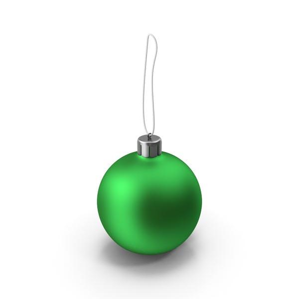 Thumbnail for Christmas Green Ball