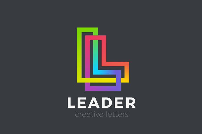 Thumbnail for Letter L Logo design Linear Infinite