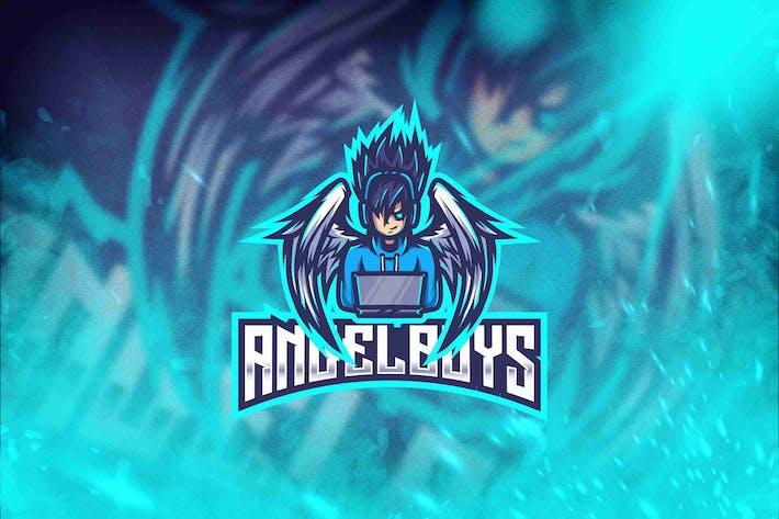 Thumbnail for Angel Boys Esport Logo Template