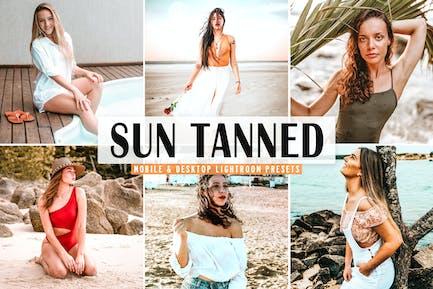Sun Tanned Mobile & Desktop Lightroom Presets