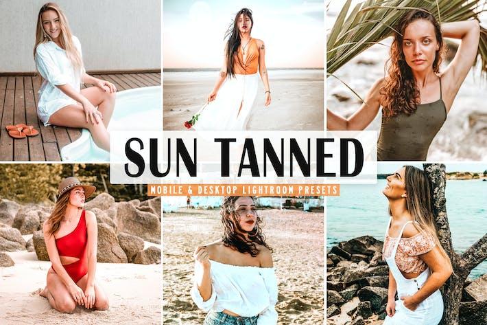 Thumbnail for Sun Tanned Mobile & Desktop Lightroom Presets