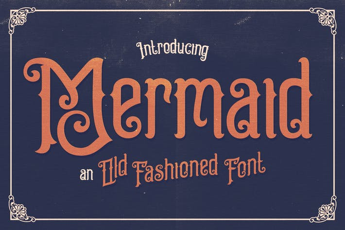 Thumbnail for Mermaid Typeface