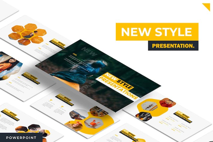 Thumbnail for New Style - Keynote Template