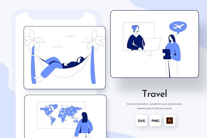 Thumbnail for Reisen für den Urlaub