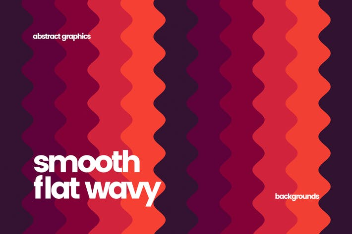 Thumbnail for Smooth Flat Wavy Backgrounds