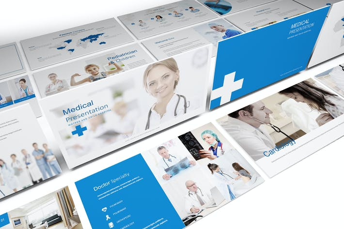 Medical and Hospital Powerpoint Template