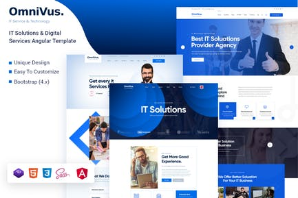 Omnivus - IT Solutions & Services Angular Template