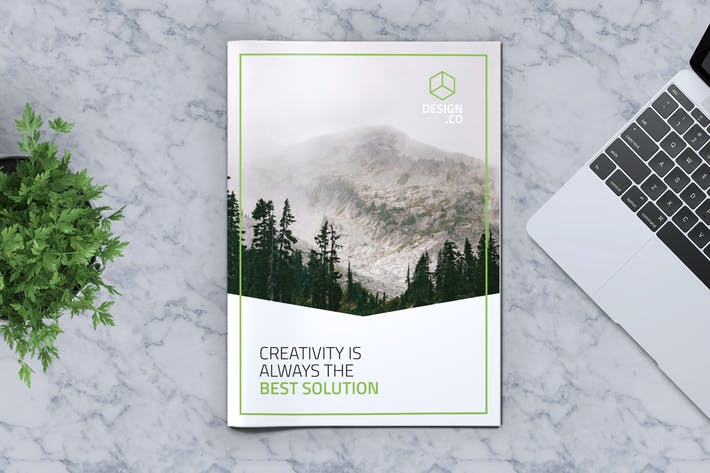 Thumbnail for Creative Brochure Template Vol. 13
