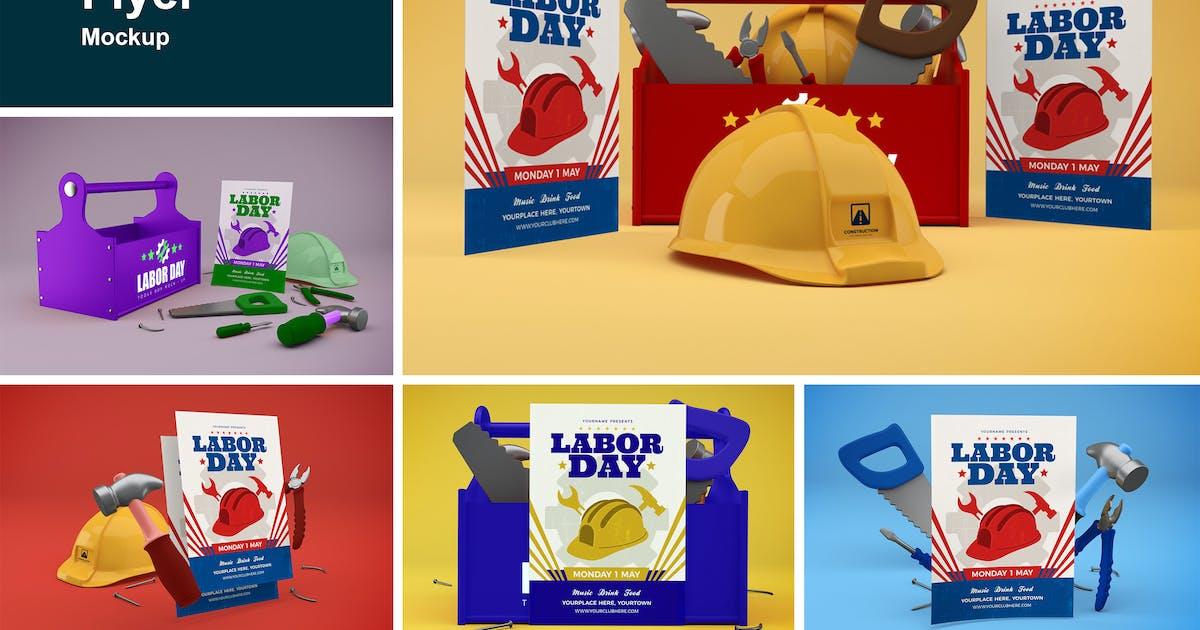 Download Labor Day Flyer by QalebStudio