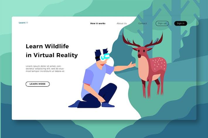 Thumbnail for Virtual Reality - Banner & Landing Page