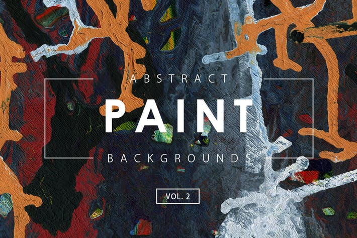 Thumbnail for Abstract Paint Backgrounds Vol. 2