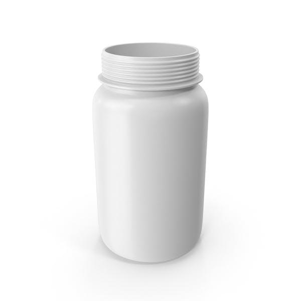 Открытая бутылка таблеток