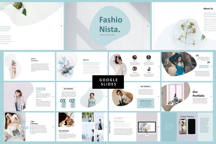 Thumbnail for Fashionista - Fashion Google Slide
