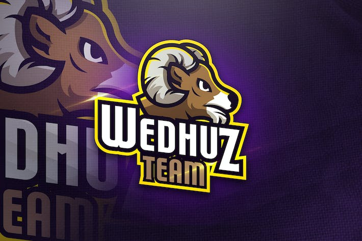 Thumbnail for Wedhuz Team - Mascot & Esport Logo