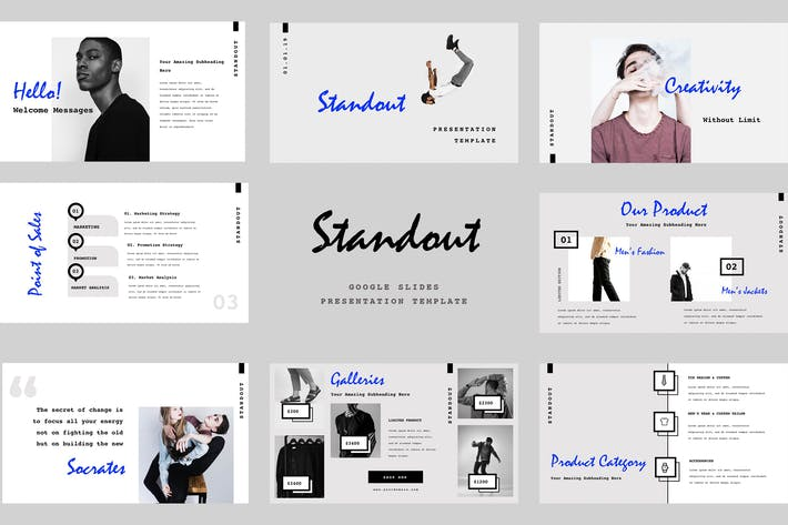 Thumbnail for Standout Google Slides Presentation