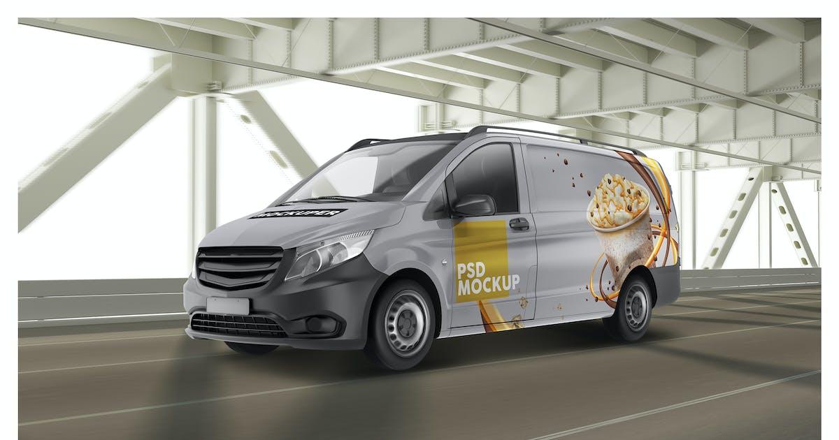 Download Panelvan On The Bridge PSD Mockup by Sinlatown