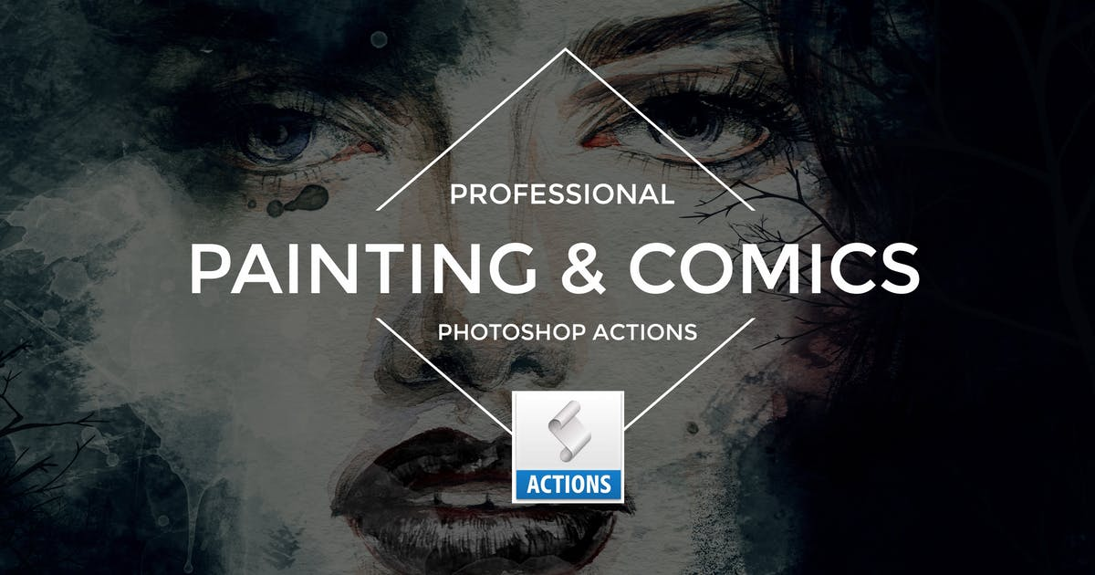 Download Painting & Comics Photoshop Actions by Artmonk