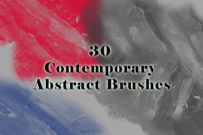 Thumbnail for 30 Contemporary Abstract Brushes