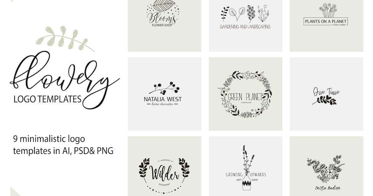 Download Flower Logo Templates V.1 by switzergirl