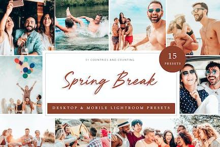 Lightroom Presets - Spring Break