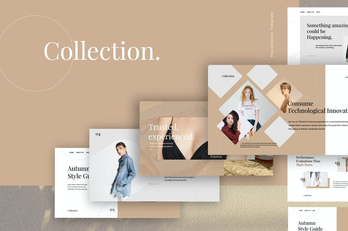Thumbnail for Collection - Fashion Design Powerpoint