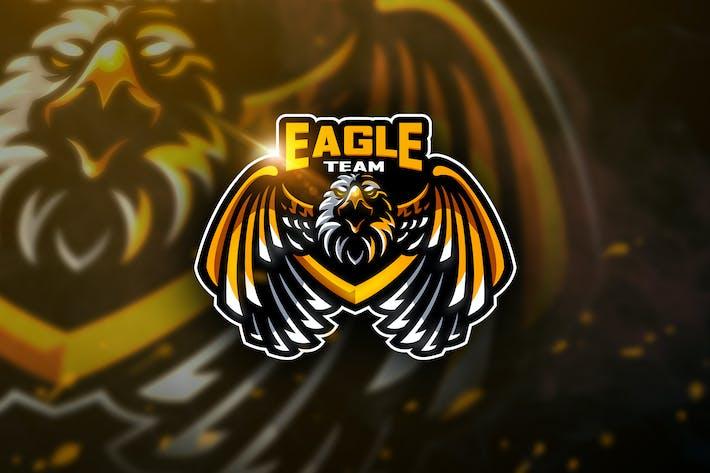 Thumbnail for Eagle Team - Mascot & Esport Logo