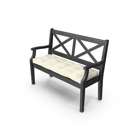 Открытая скамейка