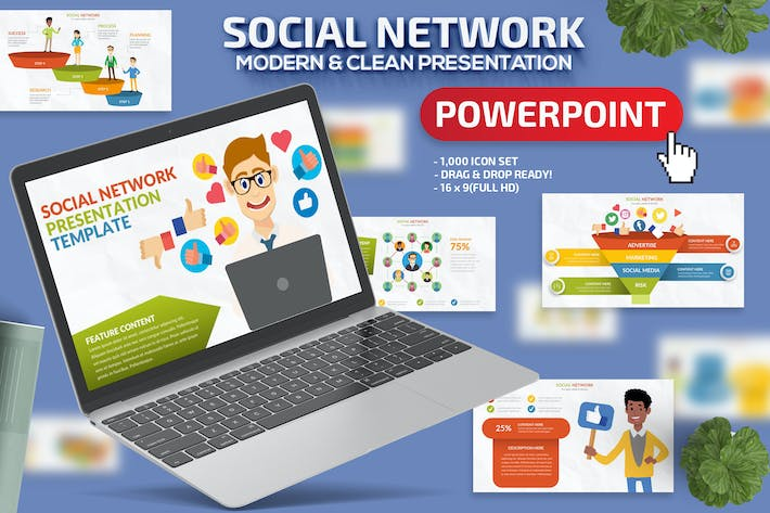 Social Network Powerpoint