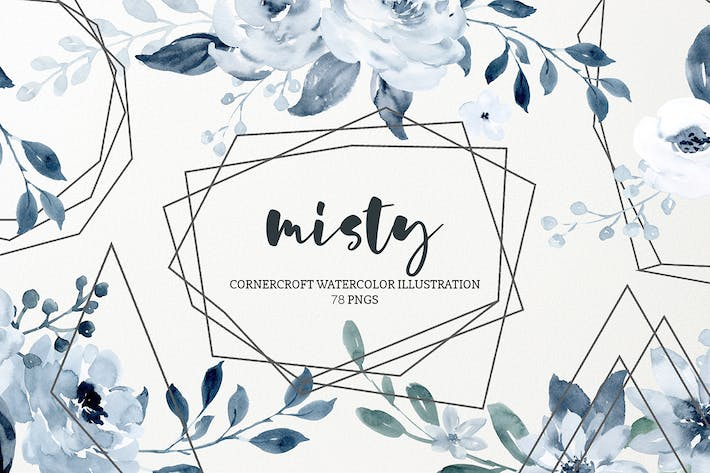 Thumbnail for Watercolor Illustration Misty