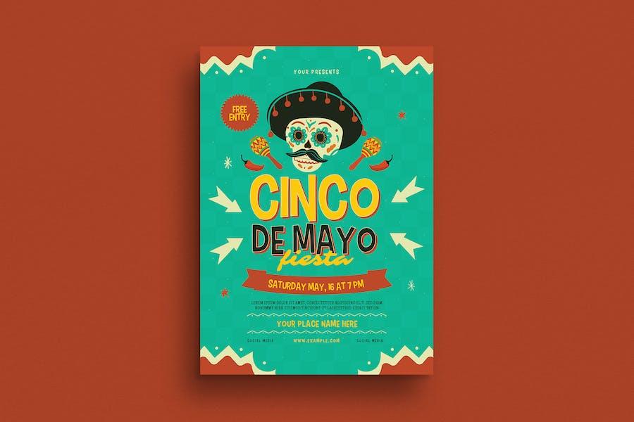 Cinco De Mayo Event Flyer