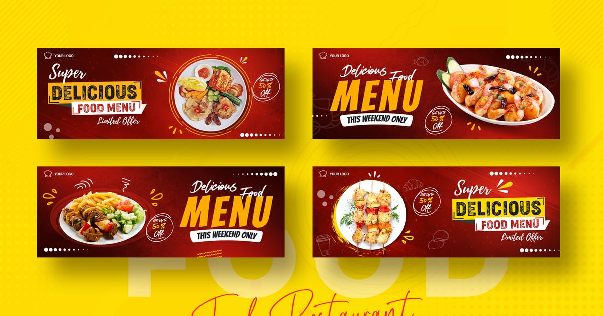 Download Food Restaurant Facebook Timeline Covers by nmc2010