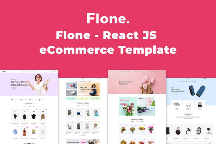 Thumbnail for Flone - React JS eCommerce Template