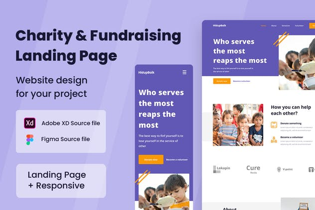 Charity Fundraising Web Design